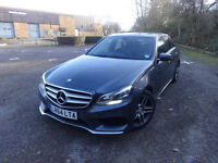 Mercedes-Benz E Class E220 Bluetec Amg Line Saloon Auto Diesel 0% FINANCE AVAILABLE