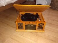 Prolectrix record player music system, vintage, retro