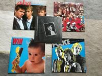 "Collection of 5 x 10/12"" Classic Singles from the 80's"