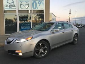 2010 Acura TL TECH PACKAGE + NAVIGATION + AWD