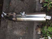 ktm silencer exhaust KTM 640 LC4 exhaust