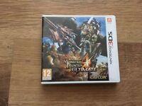Monster Hunter 4 Ultimate 3DS Game