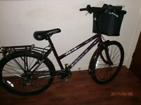 Ladies Bike.Used once excellent condition.