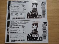 Moto GP Tickets Valencia 2018 Full Weekend 16-18th November Tribuna Amarilla
