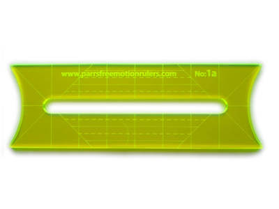 Straight Line Stitch (Parrs Free Motion Ruler Straight line designs for 'stitch in the ditch' Ruler#1 )