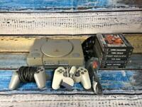 Playstation 1 Ps1 Console Bundle 7 games 2 controller Ready To Play 3. Christmas