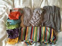 Reusable nappy set