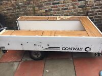 Conway trailer tent no awaning got as a project