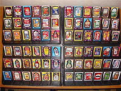 Wacky Packages Flashback Series 1 ~ 72 Card Set Now OOP