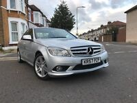 2008 MERCEDES C CLASS C220 AUTOMATIC 2.1 CDI SPORT, 1 OWNER-FULL SERVICE HISTORY