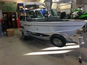 2016 Lund Boat Co Fury 1625 XL