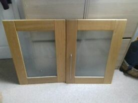 Cooke and Lewis B & Q Solid Oak Chesterton cupboard Doors