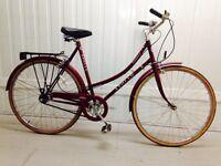 Universal three speed vintage city bike hand operated breaks hub gears