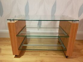 TV OR HIFI GLASS STAND