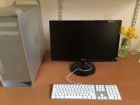Apple Mac Pro 8 core 32 GB RAM + 22 inch ultra Slim Screen + Latest OSX_2018 High Sierra