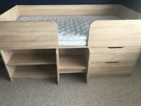 Next Compton cabin bed brand new