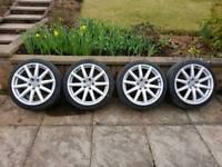 BARGIN Audi tt speedline 18 x 112 alloy wheels 9j et52