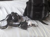 Canon 400d slr camera