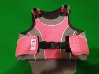 Horse riding helmet and body protection