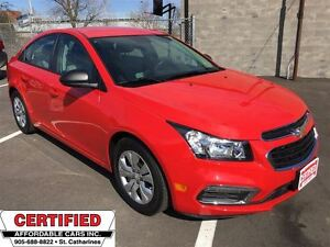 2015 Chevrolet Cruze 2LS ** BLUETOOTH, A/C, 6 SPEED **