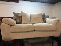 New/Ex Display Dfs Cord 3 Seater Sofa