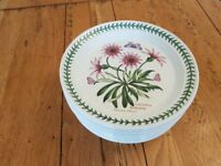 PORTMEIRION MEDIUM ROUND PLATES