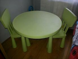 IKEA children table only