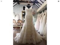 BNWT Alfred Angelo Ivory lace wedding dress