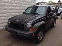 2006 Jeep Liberty 4x4 Sport Leather Alloy Wheels