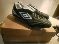 umbro football boots, size 11, never worn