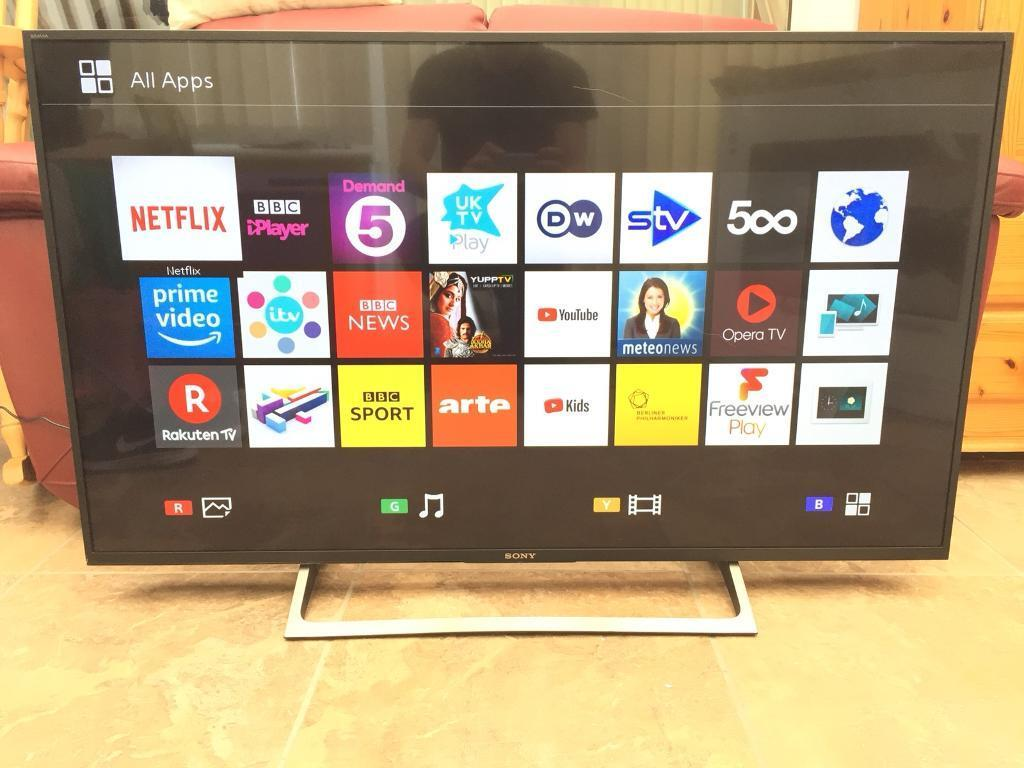 Sony Bravia 49 inch 2160p 4K Ultra HD UHD LED TV ★ Netflix/YouTube/BBC  iPlayer 📦 Boxed 📦 | in Chelmsford, Essex | Gumtree
