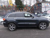 Jeep Grand Cherokee 3.0 CRD Overland 4x4 5dr SIMPLY MAGNIFICENT EXAMPLE