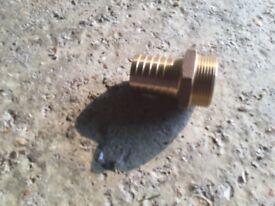 Guidi bronze hose connector