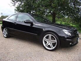 ** 2010 MERCEDES CLC 2.1 CDI SPORT - EXCELLENT CONDITION - 2-TONE LEATHER INTERIOR - £5400 **