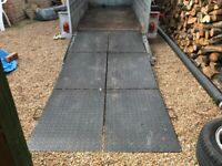 Trailer ramps, heavy duty, fold in 3 sections or any use (NOT TRAILER)