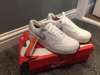 White Nike Air Max 1 Ultra 2.0 Trainers Size 3