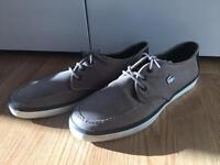 Size 11 men's Lacoste shoes