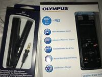 Olympus DM-670 Digital Voice Recorder Dictaphone 8GB (with ME-34 Compact Zoom Microphone)