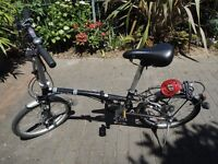 Dahon Folding bike, barely used, good quality and good condition
