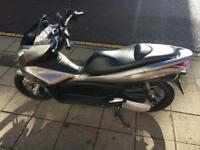 Honda Pcx125 with just 628 miles covered
