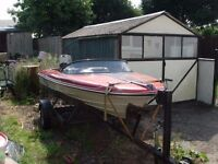 BOAT TRAILER HACKNEY LONDON [BOAT NOT INCLUDED AND NOT FOR SALE]