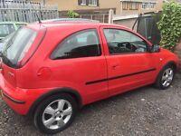 Vauxhall corsa car 1.0 corsa 2004 model petrol 3 door red CD player spares or repairs £199