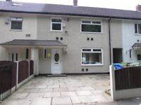 3 bed unfurnished house to rent In south manchester