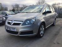 2006│Vauxhall Zafira 1.8 i 16v Club Easytronic 5dr│2 Former Keepers│Full Service History│Hpi Clear
