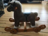 Rocking Horse for sale - Rock & Ride - Fudge from Mamas and Papas