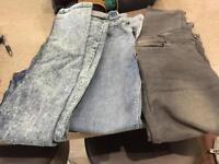 Boys jeans 👖 2 age 11 ... 1 age 12