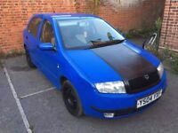 skoda fabia 1.2 petrol, 6 months mot, stacks history, cheap tax and insurance, offers or swaps