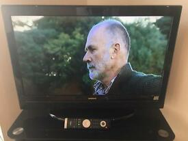"""32"""" tv, LCD, Built in Freeview and remote included"""