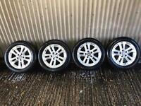 "Genuine 16"" Mercedes Benz C Class SE Alloy Wheels - 5x112 - Will fit VW, Skoda, Seat, A4, A5"