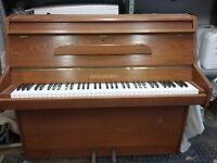 Mickleburgh Mahogany piano.